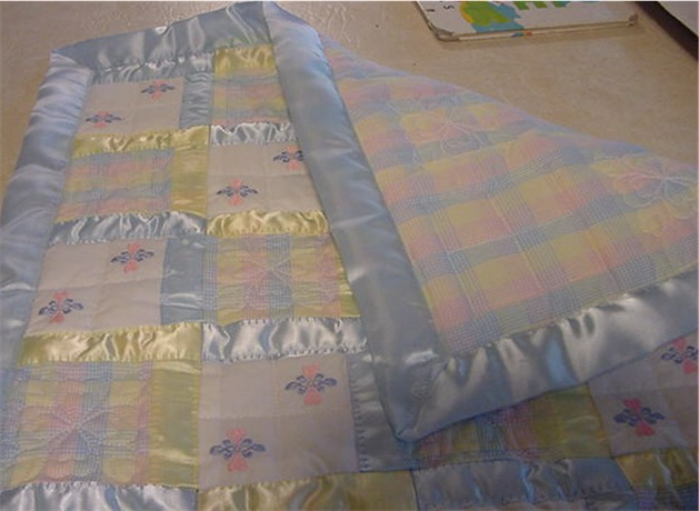 Another Cheesy Little Baby Quilt : how to make baby quilt - Adamdwight.com