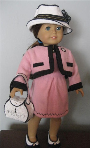 In the hoop doll clothes pattern